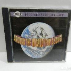 CDs de Música: DISCO CD. VARIOS – AROUND THE WORLD (FOR A SONG). COMPACT DISC.. Lote 231947445