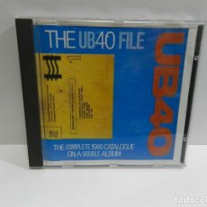 CDs de Música: DISCO CD. UB40 ‎– THE UB40 FILE. COMPACT DISC.. Lote 231950715
