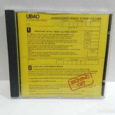 CDs de Música: DISCO CD. UB40 ‎– SIGNING OFF. COMPACT DISC.. Lote 231950825