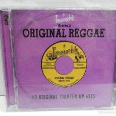 CD de Música: DISCO 2 X CD. VARIOS - TREASURE ISLE PRESENTS: ORIGINAL REGGAE 40 ORIGINAL TIGHTEN UP. COMPACT DISC.. Lote 231969370