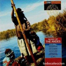 CDs de Música: VARIOS (QUILAPAYUM, VÍCTOR JARA, INTI ILLIMANI, ETC.) - MUSIC OF THE ANDES. Lote 231972845
