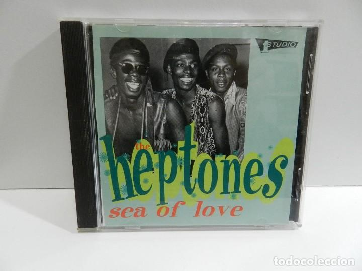DISCO CD. THE HEPTONES – SEA OF LOVE. COMPACT DISC. (Música - CD's Reggae)