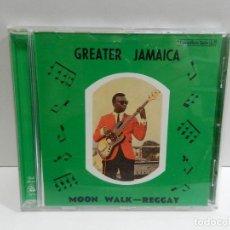 CDs de Música: DISCO CD. TOMMY MCCOOK – GREATER JAMAICA MOON WALK - REGGAY. COMPACT DISC.. Lote 231980195