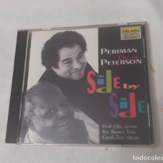 CDs de Música: CD SIDE BY SIDE PERLMAN Y PETERSON. Lote 231983430