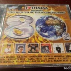 CD de Música: THE RETURN OF THE MAGIC SOUNDS - 80 DISCO - CD - NUEVO. Lote 231998470
