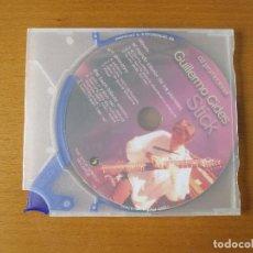 CDs de Música: GUILLERMO CIDES STICK CD PROMOCIONAL THE STICK CENTER RECORDS 10 CANCIONES. Lote 232026800