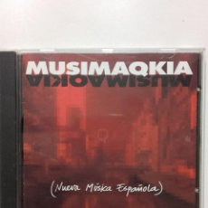 CDs de Música: MUSIMAQKIA - CD - NUEVA MÚSICA ESPAÑOLA. MARCHI, TRIDIMENSIONAL, TECHNODELIS, CROCKET.... Lote 232061405