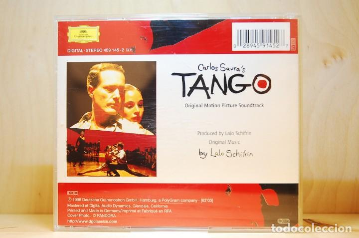 CDs de Música: TANGO - BANDA SONORA ORIGINAL - PELÍCULA CARLOS SAURA - CD - - Foto 2 - 232081220