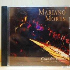 CDs de Música: MARIANO MORÉS - GRANDES ÉXITOS EN VIVO - CD -. Lote 232081245