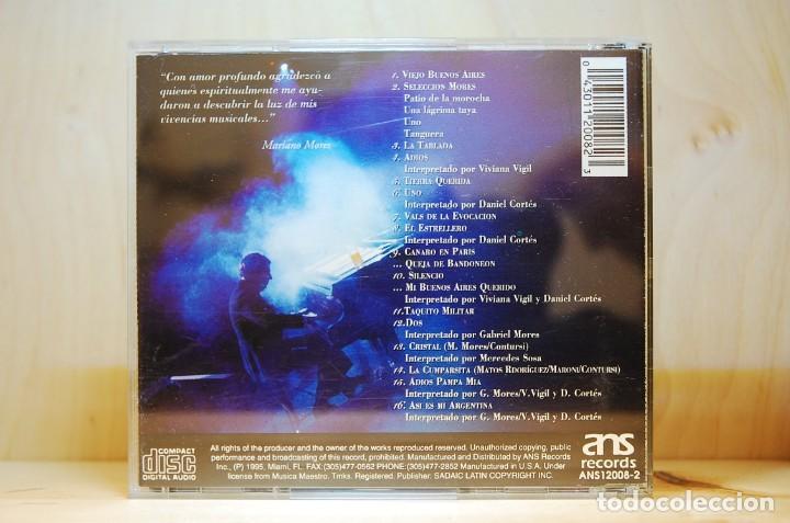 CDs de Música: MARIANO MORÉS - Grandes Éxitos en vivo - CD - - Foto 2 - 232081245