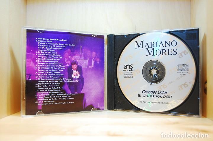 CDs de Música: MARIANO MORÉS - Grandes Éxitos en vivo - CD - - Foto 3 - 232081245