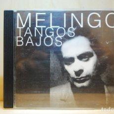 CDs de Música: MELINGO - TANGOS BAJOS - CD -. Lote 232081270