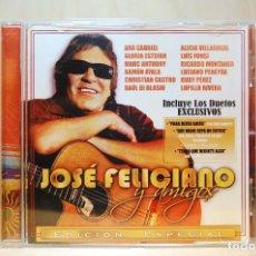CDs de Musique: JOSÉ FELICIANO Y AMIGOS - EDICIÓN ESPECIAL - CD -. Lote 232081335