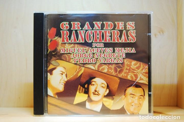 GRANDES RANCHERAS - POR MIGUEL ACEVES MEJÍA, JORGE NEGRETE, PEDRO VARGAS - CD - (Música - CD's Latina)