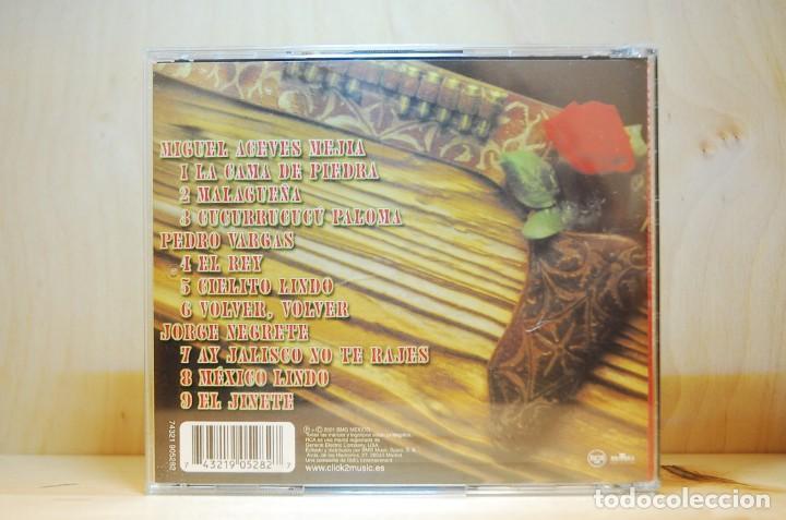 CDs de Música: GRANDES RANCHERAS - por Miguel Aceves Mejía, Jorge Negrete, Pedro Vargas - CD - - Foto 2 - 232081450