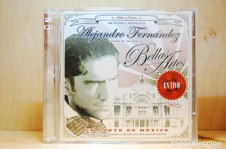 ALEJANDRO FERNÁNDEZ - EN VIVO EN EL PALACIO DE BELLAS ARTES - CD - (Música - CD's Latina)