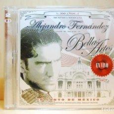 CDs de Música: ALEJANDRO FERNÁNDEZ - EN VIVO EN EL PALACIO DE BELLAS ARTES - CD -. Lote 232081490