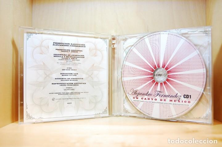CDs de Música: ALEJANDRO FERNÁNDEZ - En vivo en el Palacio de Bellas Artes - CD - - Foto 3 - 232081490