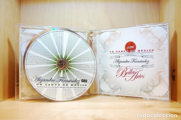 CDs de Música: ALEJANDRO FERNÁNDEZ - En vivo en el Palacio de Bellas Artes - CD - - Foto 4 - 232081490
