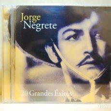 CDs de Música: JORGE NEGRETE - 20 GRANDES ÉXITOS - CD -. Lote 232081510