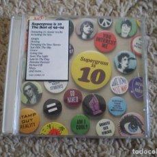 CDs de Música: CD. SUPERGRASS. THE BEST 94-04. LIBRETO. BUENA CONSERVACION. Lote 232122645