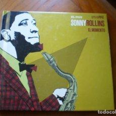 CDs de Música: LIBRO CD JAZZ. SONNY ROLLINS.. Lote 232137465