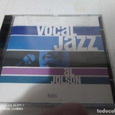 CDs de Música: VOCAL JAZZ - AL JOLSON ( NUEVO PRECINTADO). Lote 232169360