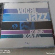 CDs de Música: VOCAL JAZZ - CONNIE BOSWELL ( NUEVO PRECINTADO). Lote 232172960