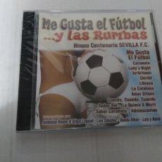 CDs de Música: ME GUSTA EL FUTBOL ... Y LAS RUMBAS ( NUEVO PRECINTADO). Lote 232176990