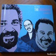 CDs de Música: LIBRO CD JAZZ. THE CRUSADERS.. Lote 232179070