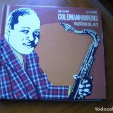 CDs de Música: LIBRO CD JAZZ. COLEMAN HAWKINS. Lote 232179965