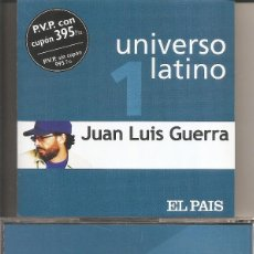 CDs de Musique: JUAN LUIS GUERRA - UNIVERSO LATINO (CD, DIARIO EL PAIS 2001). Lote 232192200