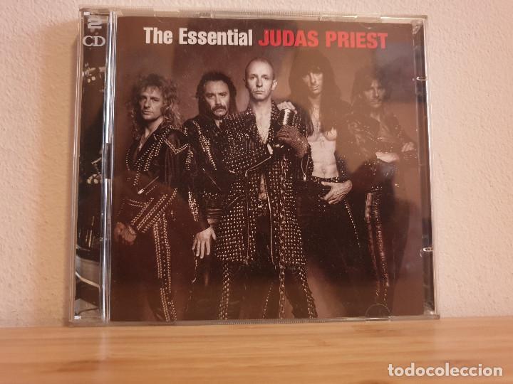 THE ESSENTIAL_JUDAS PRIEST_CD DOBLE (Música - CD's Rock)