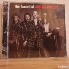 CDs de Música: THE ESSENTIAL_JUDAS PRIEST_CD DOBLE. Lote 232218265