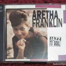 CDs de Música: ARETHA FRANKLIN (JAZZ TO SOUL) 2 CD'S 1992. Lote 232223465