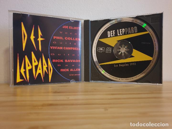 CDs de Música: Exclusivo_Los Angeles 1992 en directo_Def Leppard - Foto 3 - 232223515