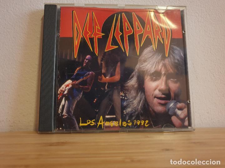 EXCLUSIVO_LOS ANGELES 1992 EN DIRECTO_DEF LEPPARD (Música - CD's Rock)