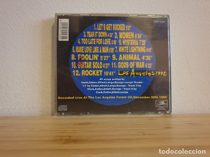 CDs de Música: Exclusivo_Los Angeles 1992 en directo_Def Leppard - Foto 2 - 232223515