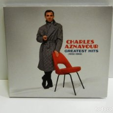 CDs de Música: DISCO CD. CHARLES AZNAVOUR – 20 GREATEST HITS (1952 - 1962). COMPACT DISC.. Lote 232262695