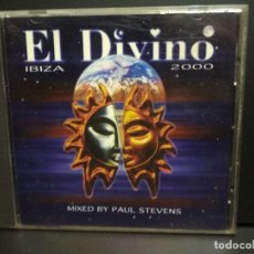 CDs de Música: EL DIVINO - IBIZA 2000 DOBLE CD HOUSE D'ARRET - DEEP HOUSE - TRANCE PEPETO. Lote 232320920