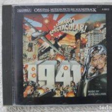 CDs de Música: BSO CD 1941 JOHN WILLIAMS. Lote 232373405