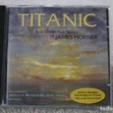 CDs de Música: BSO CD TITANIC AND OTHER FILM SCORES OF TITANIC Y OTRAS MUSICAS DE PELICULAS JAMES HORNER. Lote 232377450