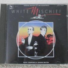 CDs de Música: BSO WHITE MISCHIEF PASIÓN INCONTROLABLE GEORGE FENTON. Lote 232379305