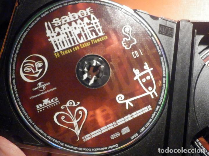 CDs de Música: 2 CD - Doble Compact Disc - Sabor flamenco - 30 temas con sabor - Varios artistas - BMG 2001 - Foto 2 - 232386660