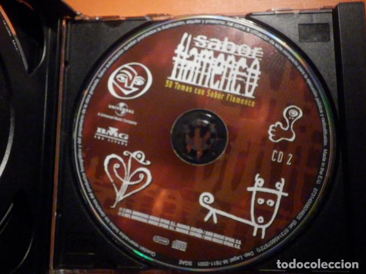 CDs de Música: 2 CD - Doble Compact Disc - Sabor flamenco - 30 temas con sabor - Varios artistas - BMG 2001 - Foto 3 - 232386660