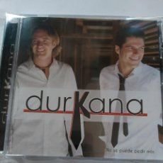 CDs de Música: DURKANA - NO SE PUEDE PEDIR MAS ( NUEVO PRECINTADO). Lote 232432685