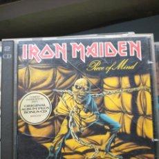 CDs de Música: IRON MAIDEN CD DOBLE. Lote 232434310