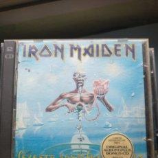 CDs de Música: IRON MAIDEN CD DOBLE. Lote 232434470
