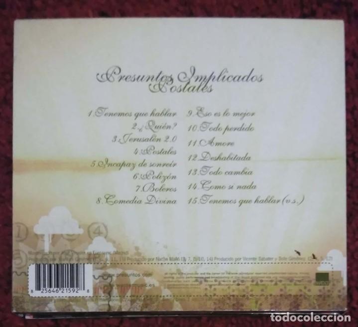 CDs de Música: PRESUNTOS IMPLICADOS (POSTALES) CD 2005 DELUXE EDITION - Foto 2 - 232466345