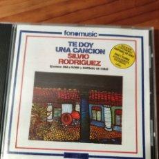 CDs de Música: CD SILVIO RODRÍGUEZ. TE DOY UNA CANCIÓN. Lote 232523890